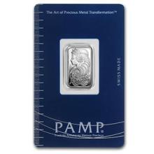 2.5 gram Silver Bar - PAMP Suisse (Fortuna)