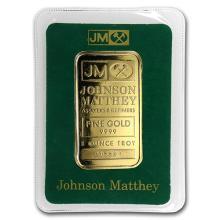 1 oz Gold Bar - Johnson Matthey (In Assay)
