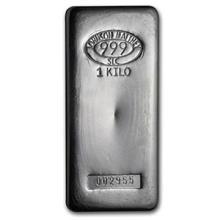 1 kilo Silver Bar - Johnson Matthey (SLC)