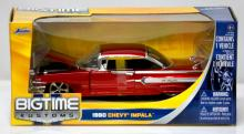 COLLECTIBLE 1960 CANDY RED CHEVY IMPALA DIECAST MODEL C