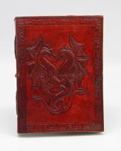 LEATHER DRAGON EMBOSSED JOURNAL