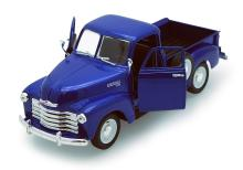 COLLECTIBLE BLUE 1953 CHEVY 3100 PICK UP TRUCH DIECAST
