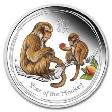 2016 Australia 1/2 oz Silver Lunar Monkey Proof (Colorized) #21724v3