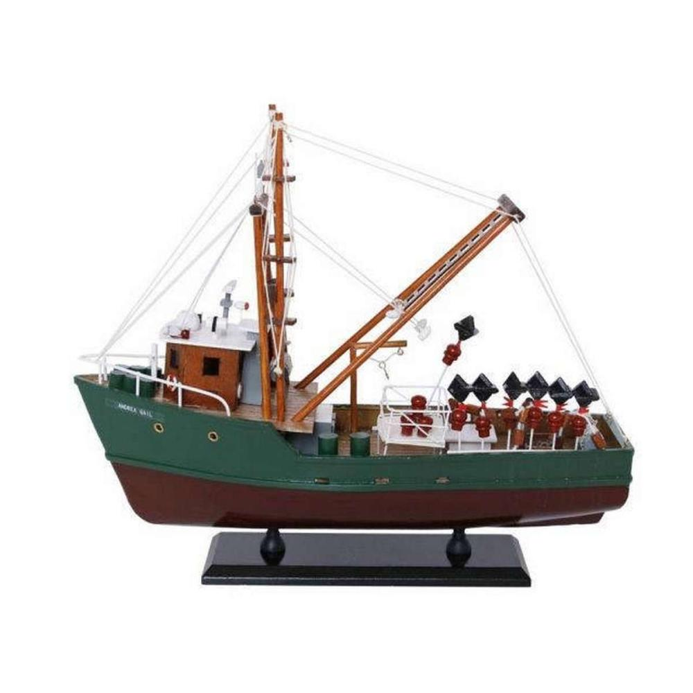 Wooden Andrea Gail - The Perfect Storm Model Boat 16in.