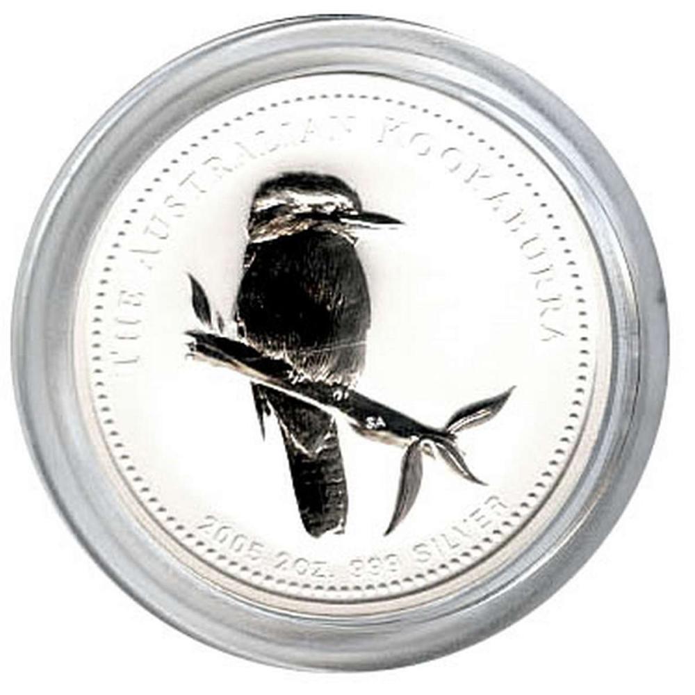 Australian Kookaburra 2 oz. Silver 2005