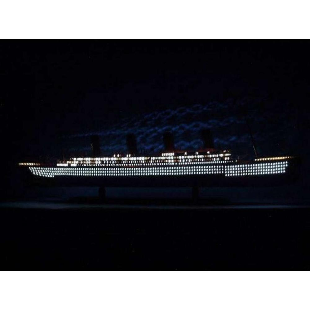SS United States Limited Model Cruise Ship 40in. w/ LED Lights
