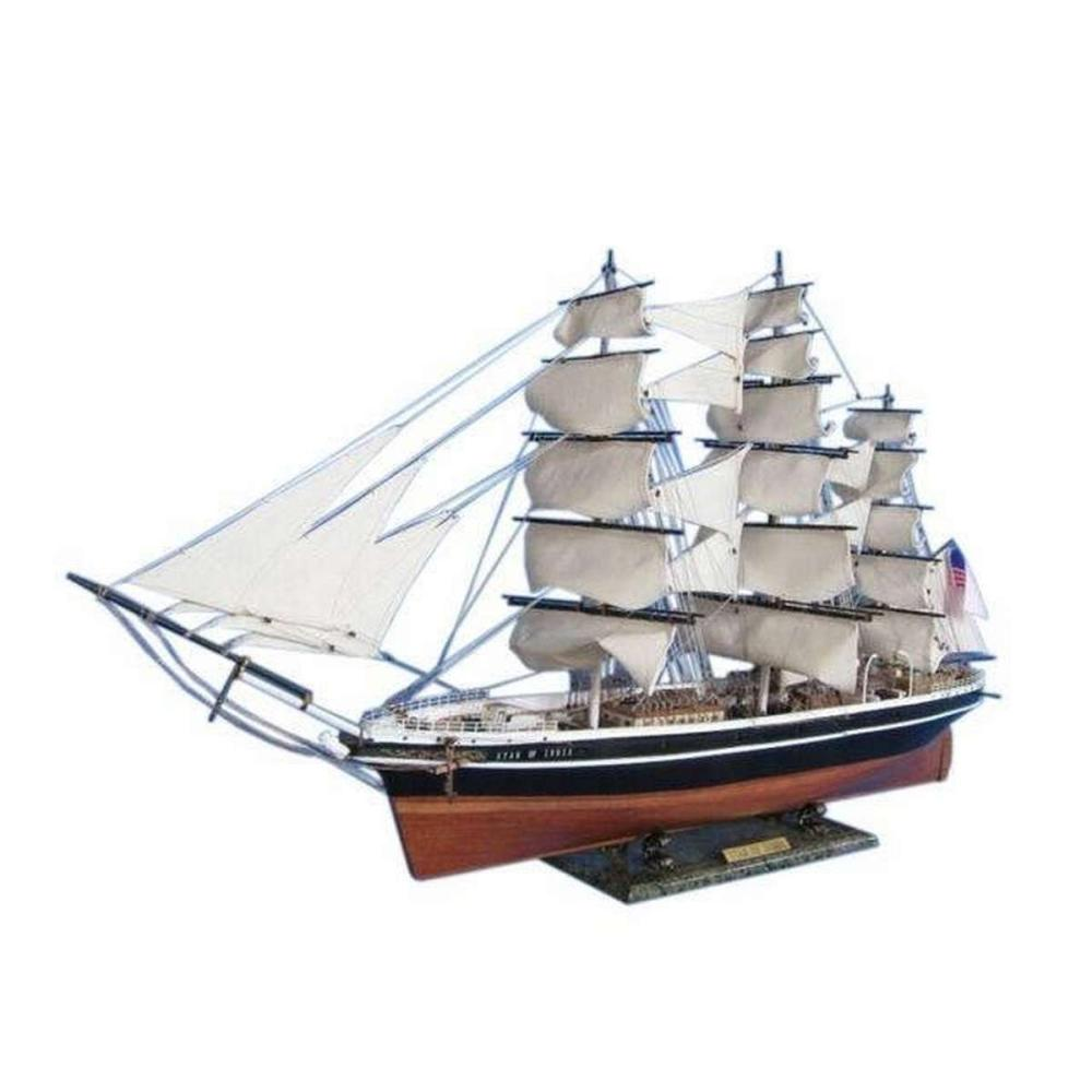 Star of India Limited Tall Model Ship 50in.