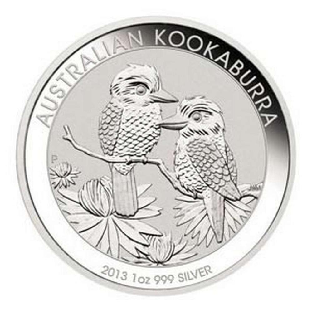 Australian Kookaburra 1 oz. Silver 2013