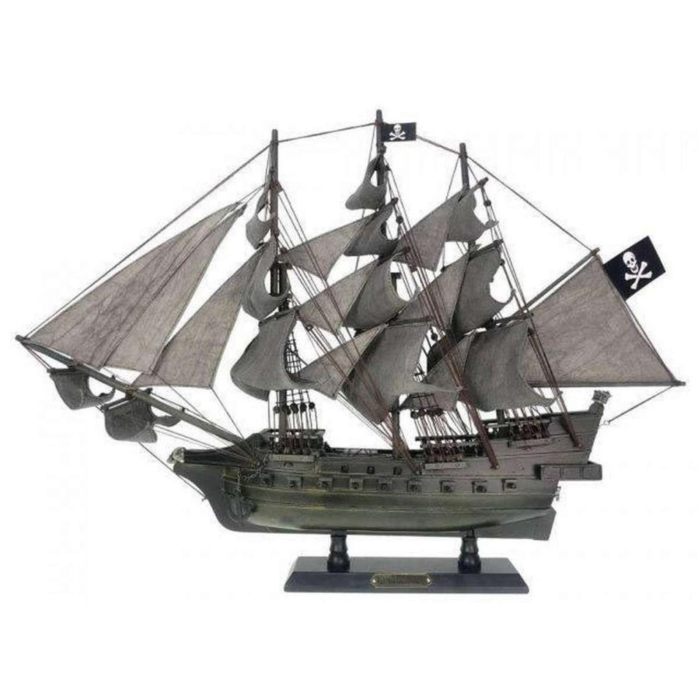 Wooden Flying Dutchman Limited Model Pirate Ship 26in.