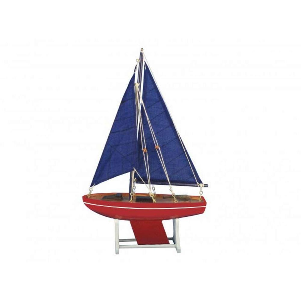 Wooden It Floats American Anchor Model Sailboat 12in.