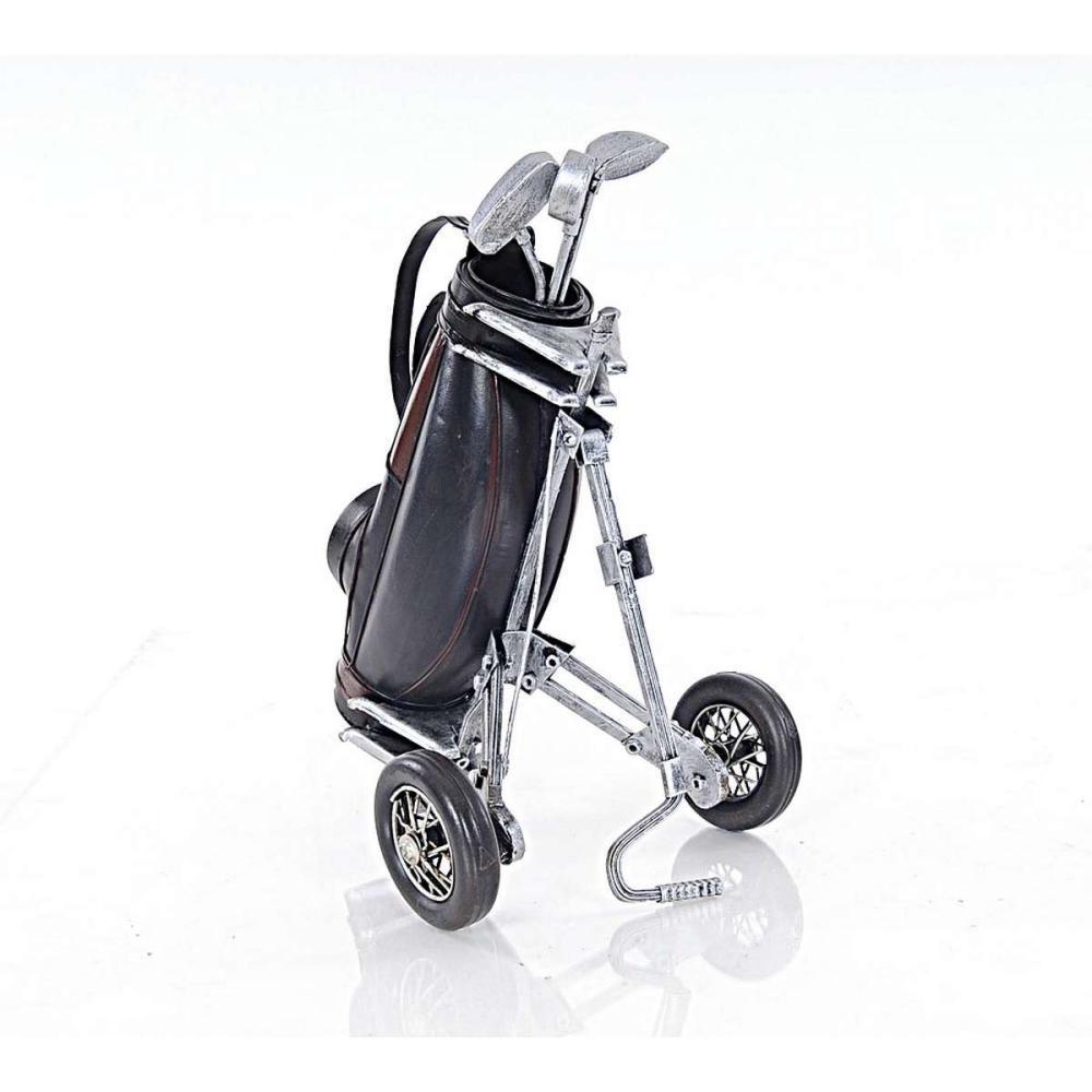 Black Golf Cart