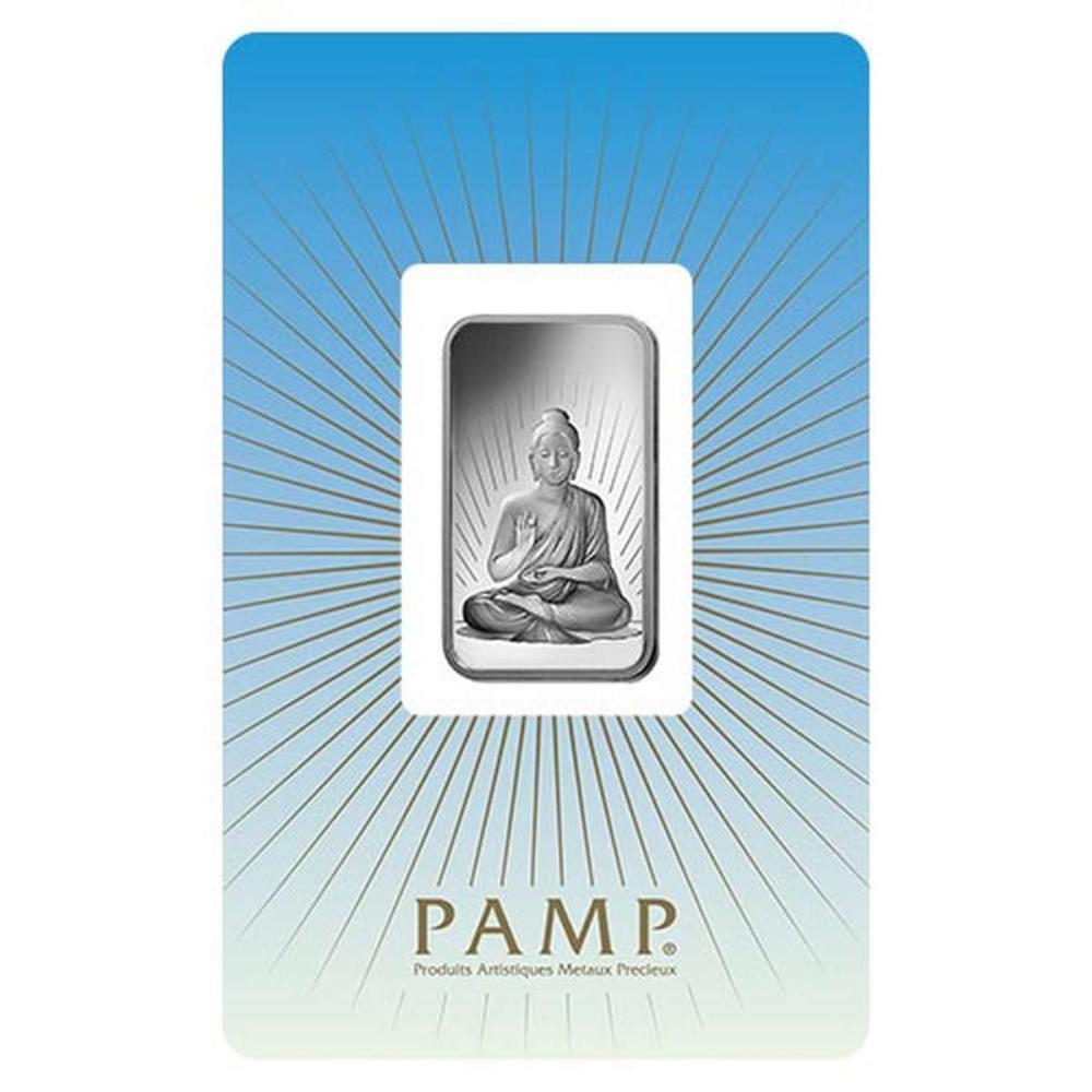 PAMP Suisse Silver Bar 10 Gram - Buddha