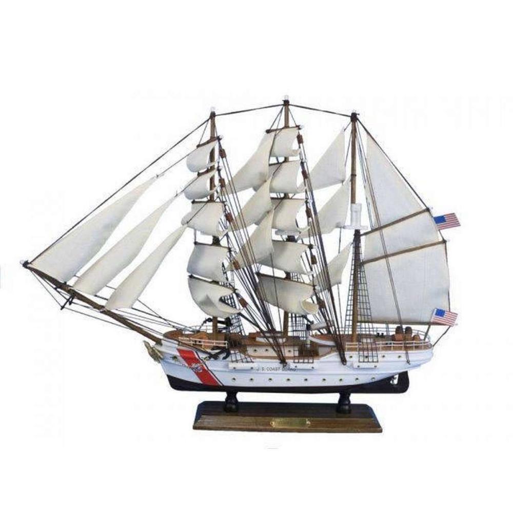 United States Coast Guard USCG Eagle Tall Model Ship 24in.