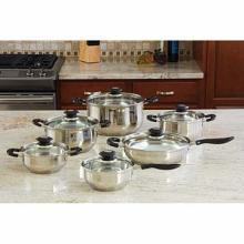 Chef's Secret. 13pc Aluminum Cookware Set