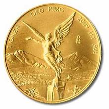 Mexico Gold Libertad One Ounce 2009