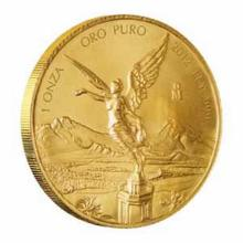 Mexico Gold Libertad One Ounce 2012