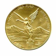Mexico Gold Libertad One Ounce 2016