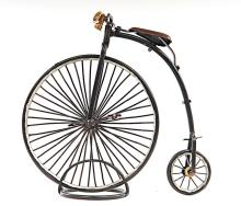 HAND MADE 1870 THE HIGH WHEELER-PENNY FARTHING REPLICA