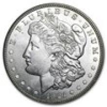 1921-D Morgan Dollar BU