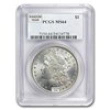 1878-1904 Morgan Silver Dollar MS-64 PCGS