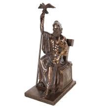 Zeus Cold Cast Bronze Statue