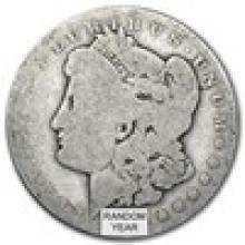 1878-1904 Morgan Silver Dollar AG