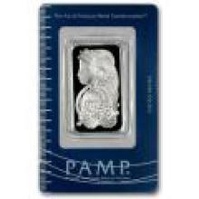 PAMP Suisse Silver Bar 1 oz - Fortuna Design