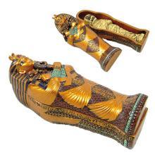 King Tut Sarcophagus w/ Mummy