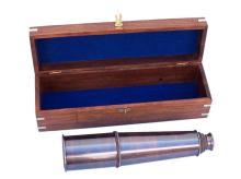 Hampton Collection Antique Style Copper Nautical Telesc