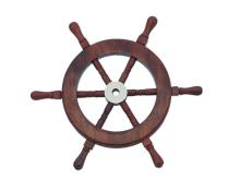NAUTICAL DELUXE CLASS HAMPTON WOOD AND SOLID BRASS 9