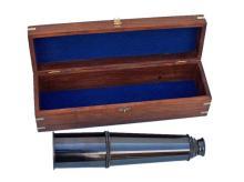 Hampton Collection Antique Style Brass Nautical Telesco