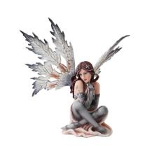 HAND PAINTED RESIN WINTER FAIRY 14