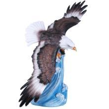 COLD CAST RESIN EAGLE SOARING 10 1/4