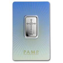 10 g Silver Bar - PAMP Suisse Religious Series (Romanesque Cross)