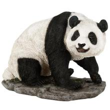 HAND PAINTED COLD CAST RESIN PANDA 8