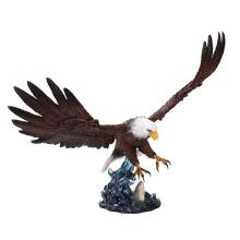 HAND PAINTED RESIN EAGLE 19