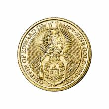 The Queens Beasts 1/4 oz. Gold Bullion 2017 Griffin