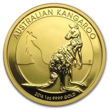 2016 Australia 1 oz Gold Kangaroo (MintDirect