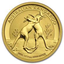 2010 Australia 1/10 oz Gold Kangaroo BU