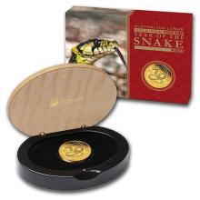 2013 Australia 1/4 oz Gold Lunar Snake Proof (Series II)
