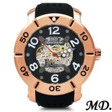 MARCEL DRUCKER Brand New Stainless Steel Chronograph Date Men Watch with Interchangeable Straps