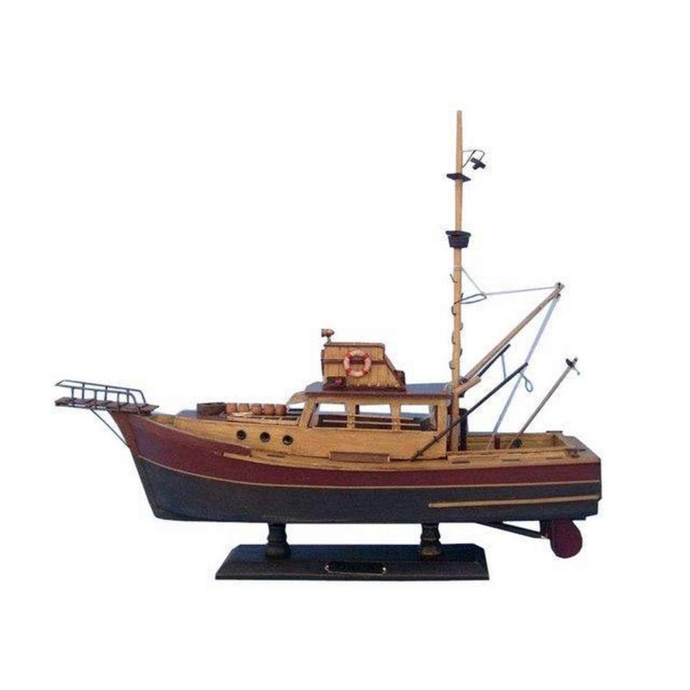 Wooden Jaws - Orca Model Boat 20in.