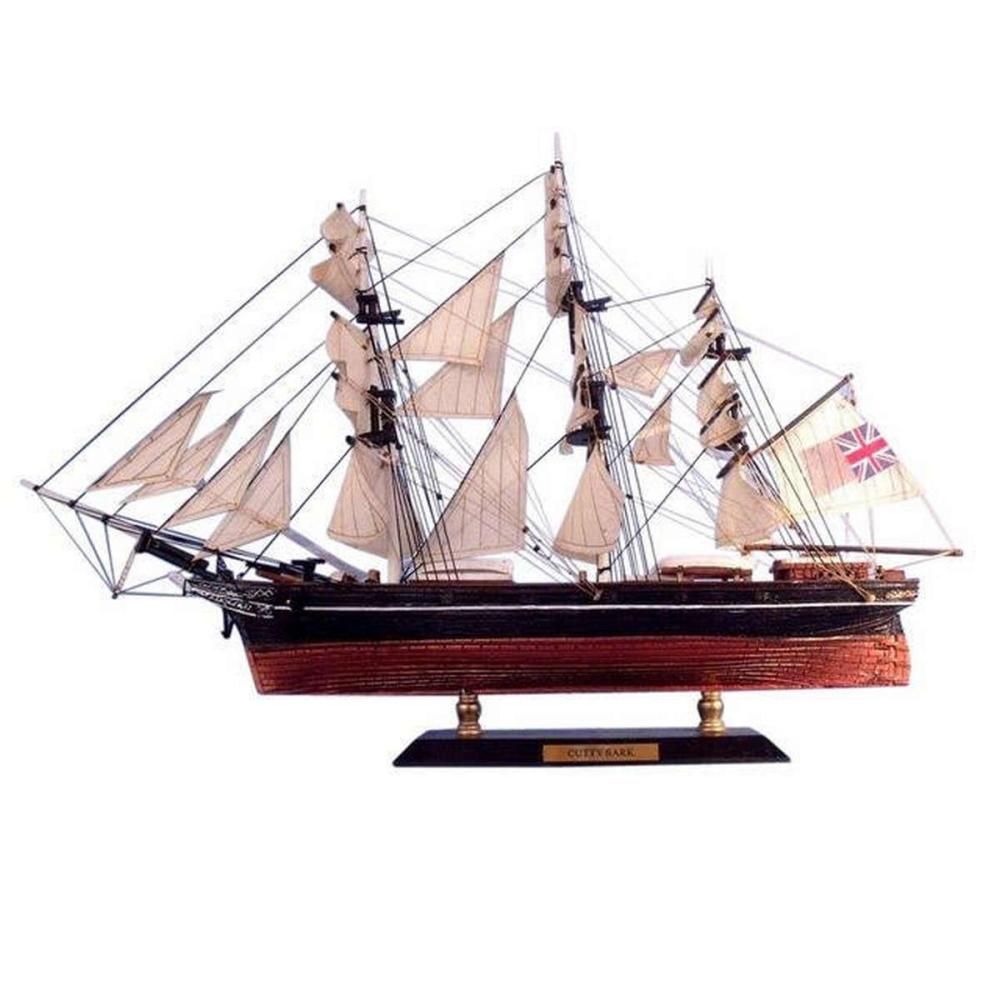 Cutty Sark Limited Tall Model Clipper Ship 15in.