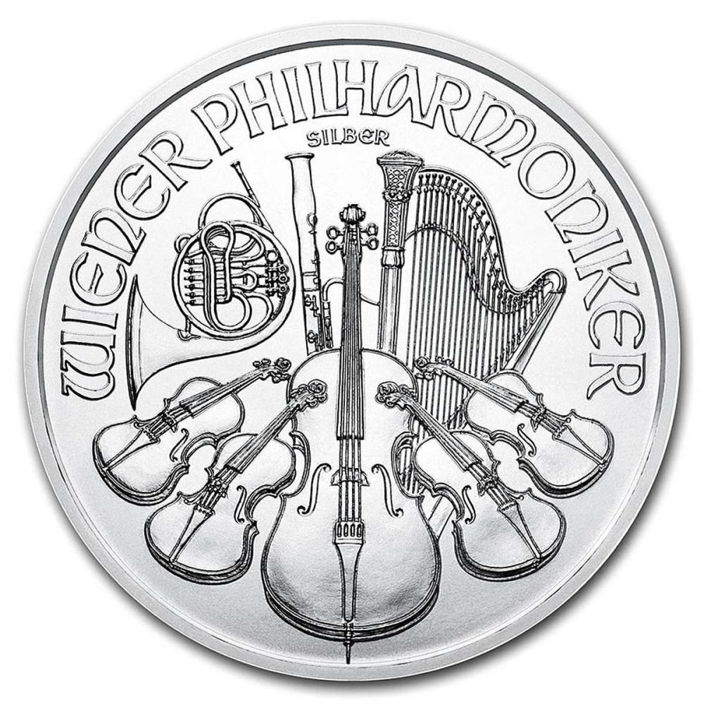 Austrian Philharmonic Silver One Ounce 2019