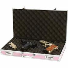 Meyerco. Pink Aluminum-Framed Gun Case