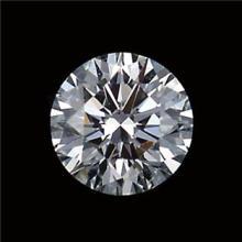 GIA CERTIFIED 0.53 CTW ROUND DIAMOND J/VVS2