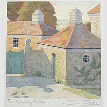 SIMON PALMER (BRITISH, B. 1956) - THE COUNTRY HOUSE