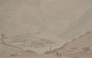 THOMAS SUNDERLAND (1744-1828) VIEW OF THE TAMAR,