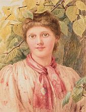 E.L. MCCLOY (19th CENTURY)  WIFE OF SAMUEL MCCLOY  signed l.r.: E.L