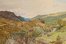 Attributed to Benjamin Williams Leader R.A. (1831-1923)  View near Bett